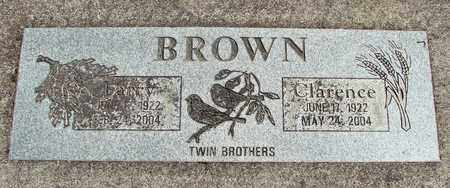 BROWN, CLARENCE - Linn County, Oregon | CLARENCE BROWN - Oregon Gravestone Photos