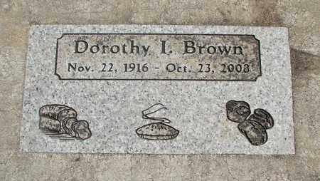 BROWN, DOROTHY I - Linn County, Oregon | DOROTHY I BROWN - Oregon Gravestone Photos