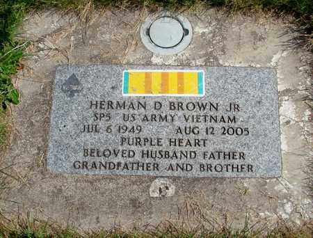 BROWN, HERMAN DIRKS, JR - Linn County, Oregon | HERMAN DIRKS, JR BROWN - Oregon Gravestone Photos