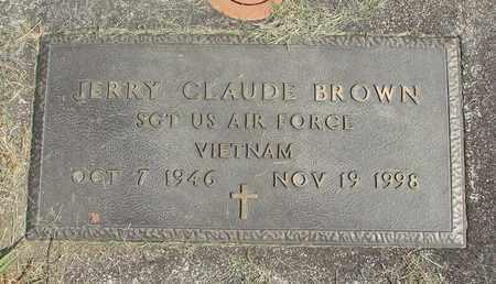 BROWN (VN), JERRY CLAUDE - Linn County, Oregon | JERRY CLAUDE BROWN (VN) - Oregon Gravestone Photos