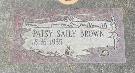 SAILEY BROWN, PATSY - Linn County, Oregon | PATSY SAILEY BROWN - Oregon Gravestone Photos