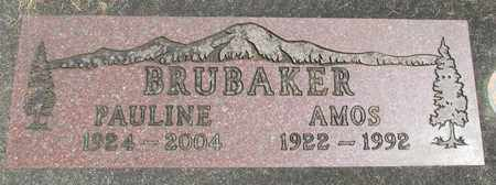 BRUBAKER, PAULINE - Linn County, Oregon | PAULINE BRUBAKER - Oregon Gravestone Photos