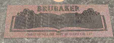 BRUBAKER, OPAL I - Linn County, Oregon | OPAL I BRUBAKER - Oregon Gravestone Photos