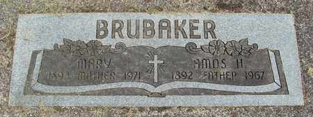 MUSSELMAN BRUBAKER, MARY S - Linn County, Oregon | MARY S MUSSELMAN BRUBAKER - Oregon Gravestone Photos