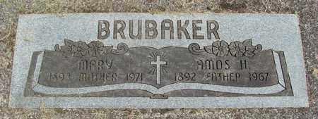 BRUBAKER, MARY S - Linn County, Oregon | MARY S BRUBAKER - Oregon Gravestone Photos