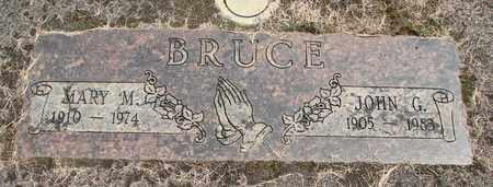 BRUCE, MARY M - Linn County, Oregon | MARY M BRUCE - Oregon Gravestone Photos
