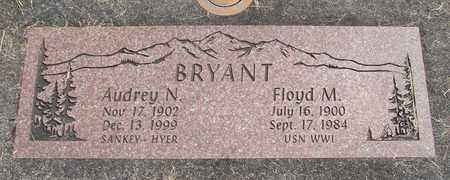 BRYANT, AUDREY NADINE - Linn County, Oregon | AUDREY NADINE BRYANT - Oregon Gravestone Photos