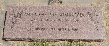 BUMBARGER, CHARLENE RAE - Linn County, Oregon | CHARLENE RAE BUMBARGER - Oregon Gravestone Photos