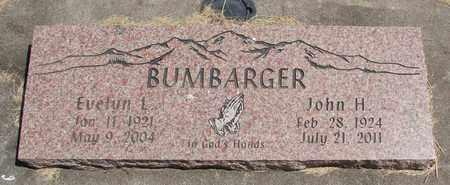 BUMBARGER, JOHN H - Linn County, Oregon | JOHN H BUMBARGER - Oregon Gravestone Photos