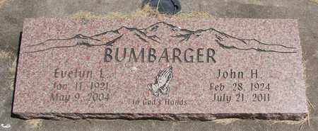 BUMBARGER, EVELYN L - Linn County, Oregon | EVELYN L BUMBARGER - Oregon Gravestone Photos