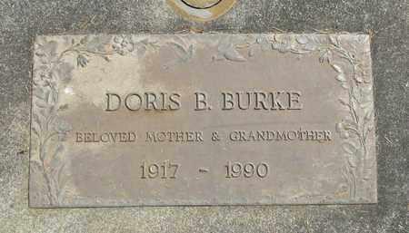 BURKE, DORIS BELLE - Linn County, Oregon | DORIS BELLE BURKE - Oregon Gravestone Photos