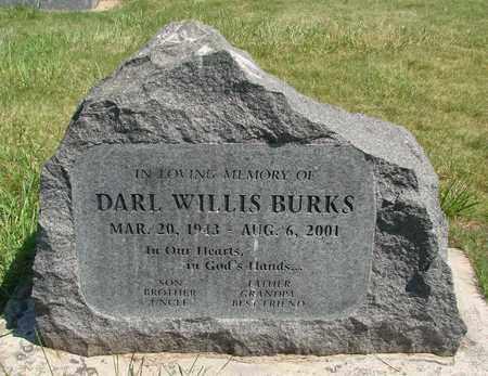 BURKS, DARL WILLIS - Linn County, Oregon | DARL WILLIS BURKS - Oregon Gravestone Photos