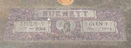 BURNETT, LEOLA VARIAN - Linn County, Oregon | LEOLA VARIAN BURNETT - Oregon Gravestone Photos