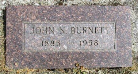 BURNETT, JOHN NATHANIAL - Linn County, Oregon | JOHN NATHANIAL BURNETT - Oregon Gravestone Photos