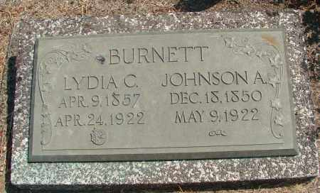 BURNETT, JOHNSON A - Linn County, Oregon | JOHNSON A BURNETT - Oregon Gravestone Photos