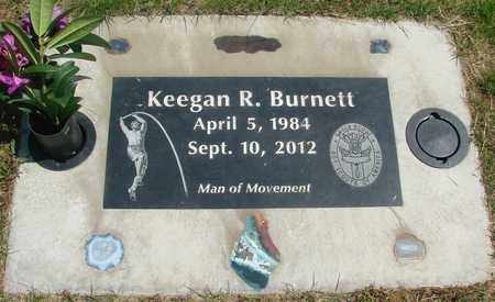 BURNETT, KEEGAN RICHARD - Linn County, Oregon | KEEGAN RICHARD BURNETT - Oregon Gravestone Photos