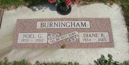 BURNINGHAM, DIANE R - Linn County, Oregon | DIANE R BURNINGHAM - Oregon Gravestone Photos