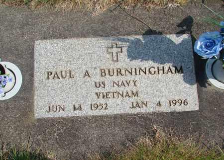 BURNINGHAM (VN), PAUL ALLEN - Linn County, Oregon | PAUL ALLEN BURNINGHAM (VN) - Oregon Gravestone Photos