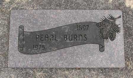 BURNS, PEARL - Linn County, Oregon   PEARL BURNS - Oregon Gravestone Photos