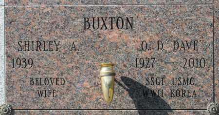 BUXTON, SHIRLEY A - Linn County, Oregon | SHIRLEY A BUXTON - Oregon Gravestone Photos