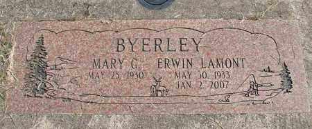 BYERLEY, ERWIN LAMONT - Linn County, Oregon | ERWIN LAMONT BYERLEY - Oregon Gravestone Photos