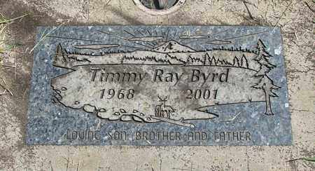 BYRD, TIMMY RAY - Linn County, Oregon | TIMMY RAY BYRD - Oregon Gravestone Photos