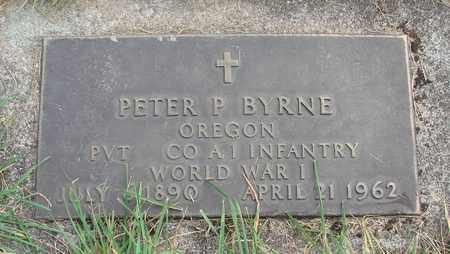 BYRNE, PETER P - Linn County, Oregon | PETER P BYRNE - Oregon Gravestone Photos