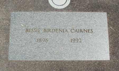 BIRDENIA CAIRNES, BESSIE - Linn County, Oregon   BESSIE BIRDENIA CAIRNES - Oregon Gravestone Photos