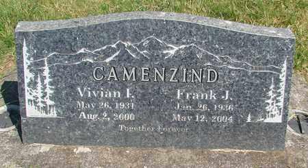 VANCIL CAMENZIND, VIVIAN I - Linn County, Oregon | VIVIAN I VANCIL CAMENZIND - Oregon Gravestone Photos