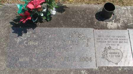 CANFIELD, CARRIE J - Linn County, Oregon | CARRIE J CANFIELD - Oregon Gravestone Photos