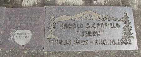 CANFIELD, HAROLD G - Linn County, Oregon | HAROLD G CANFIELD - Oregon Gravestone Photos