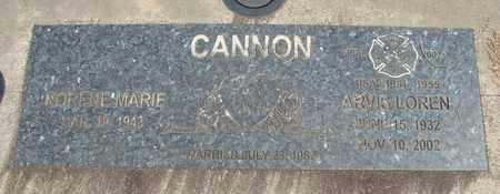 CANNN, NORENE MARIE - Linn County, Oregon   NORENE MARIE CANNN - Oregon Gravestone Photos