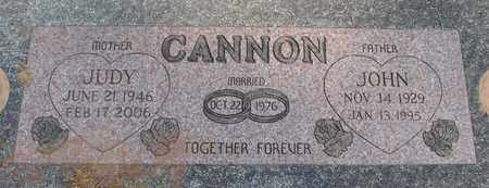 CANNON, JOHN CALVIN - Linn County, Oregon | JOHN CALVIN CANNON - Oregon Gravestone Photos
