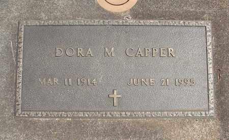 CAPPER, DORA MARGARET - Linn County, Oregon | DORA MARGARET CAPPER - Oregon Gravestone Photos