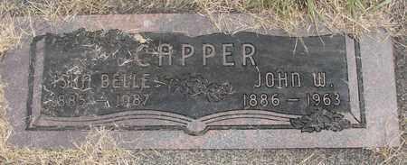 CAPPER, JOHN W - Linn County, Oregon | JOHN W CAPPER - Oregon Gravestone Photos