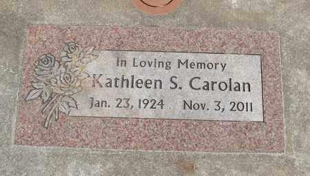 CAROLAN, KATHLEEN ELLEN - Linn County, Oregon | KATHLEEN ELLEN CAROLAN - Oregon Gravestone Photos