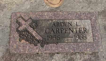 CARPENTER, ARDEN L - Linn County, Oregon | ARDEN L CARPENTER - Oregon Gravestone Photos