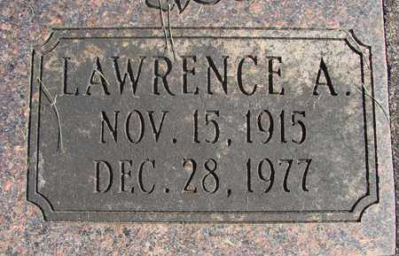CARPENTER, LAWRENCE A - Linn County, Oregon | LAWRENCE A CARPENTER - Oregon Gravestone Photos