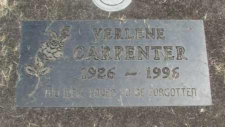 CARPENTER, VERLENE ALICE - Linn County, Oregon | VERLENE ALICE CARPENTER - Oregon Gravestone Photos