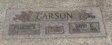 CARSON, DAVID G - Linn County, Oregon | DAVID G CARSON - Oregon Gravestone Photos