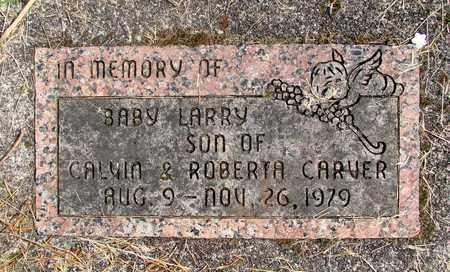 CARVER, LARRY C - Linn County, Oregon   LARRY C CARVER - Oregon Gravestone Photos