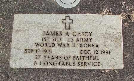 CASEY, JAMES ALLEN - Linn County, Oregon | JAMES ALLEN CASEY - Oregon Gravestone Photos
