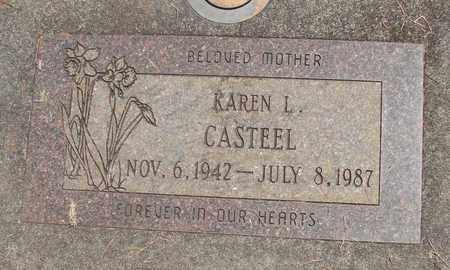CASTEEL, KAREN LOUISE - Linn County, Oregon | KAREN LOUISE CASTEEL - Oregon Gravestone Photos