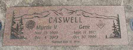 CASWELL, GENE - Linn County, Oregon | GENE CASWELL - Oregon Gravestone Photos