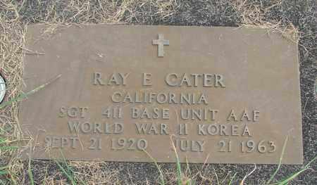CATER, RAY E - Linn County, Oregon | RAY E CATER - Oregon Gravestone Photos
