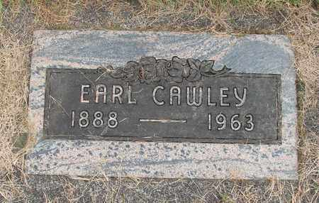 CAWLEY, EARL V - Linn County, Oregon | EARL V CAWLEY - Oregon Gravestone Photos