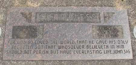 CHAMBLESS, VERA V - Linn County, Oregon   VERA V CHAMBLESS - Oregon Gravestone Photos