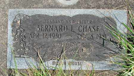 CHASE, BERNARD L - Linn County, Oregon | BERNARD L CHASE - Oregon Gravestone Photos