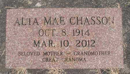 CHASSON, ALTA MAE - Linn County, Oregon   ALTA MAE CHASSON - Oregon Gravestone Photos
