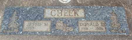 CHEEK, JESSIE M - Linn County, Oregon | JESSIE M CHEEK - Oregon Gravestone Photos